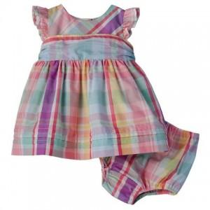 Chaps Plaid Dress