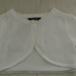 Chaps White Jacket