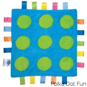 Little Taggies 'Polka Dot' Blanket