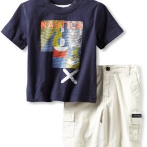 Nautica T Shirt and Shorts