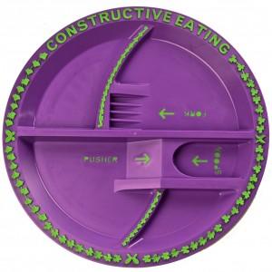 Noo Fair Garden Plate