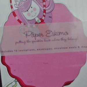 Paper Eskimo Birthday Invitations