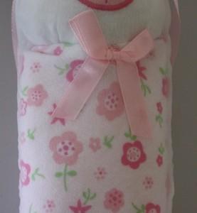 Plum Baby Cuddle Blanket