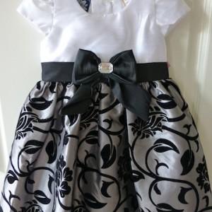 So La Vita Girl's Party Dress