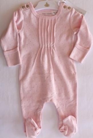 c02477a42882 Tiny Tribe L S Pintuck Romper - Baby Designer Clothes