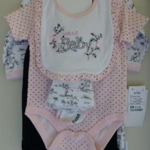 Vitamins Baby baby Girl's Six Piece Set