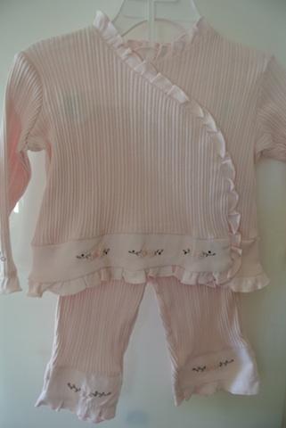 Wendy Bellissimo Three Piece Set Baby Designer Clothes