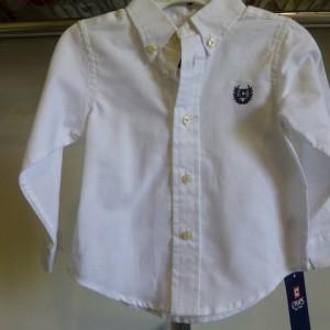 Chaps Boy's White Shirt
