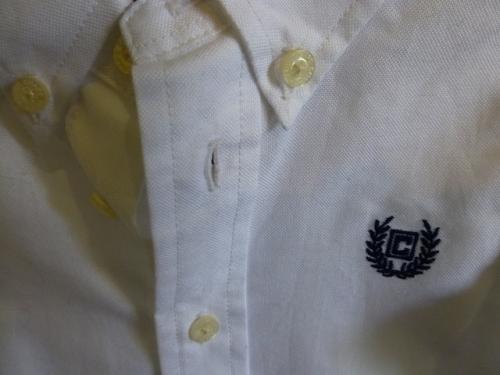 Chaps Boy's White Shirt - Baby Designer Clothes