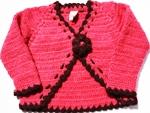 Eternal Creation -Crocheted bolero style cardigan