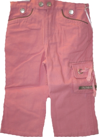 Fresh Baked Pink Cotton Pants - Baby Designer Clothes