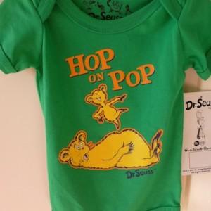 Hop On Pop Snapsuit By Dr. Seuss