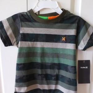 Hurley Striped Boy's Tshirt