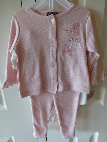 XOXO Four Piece Set - Baby Designer Clothes