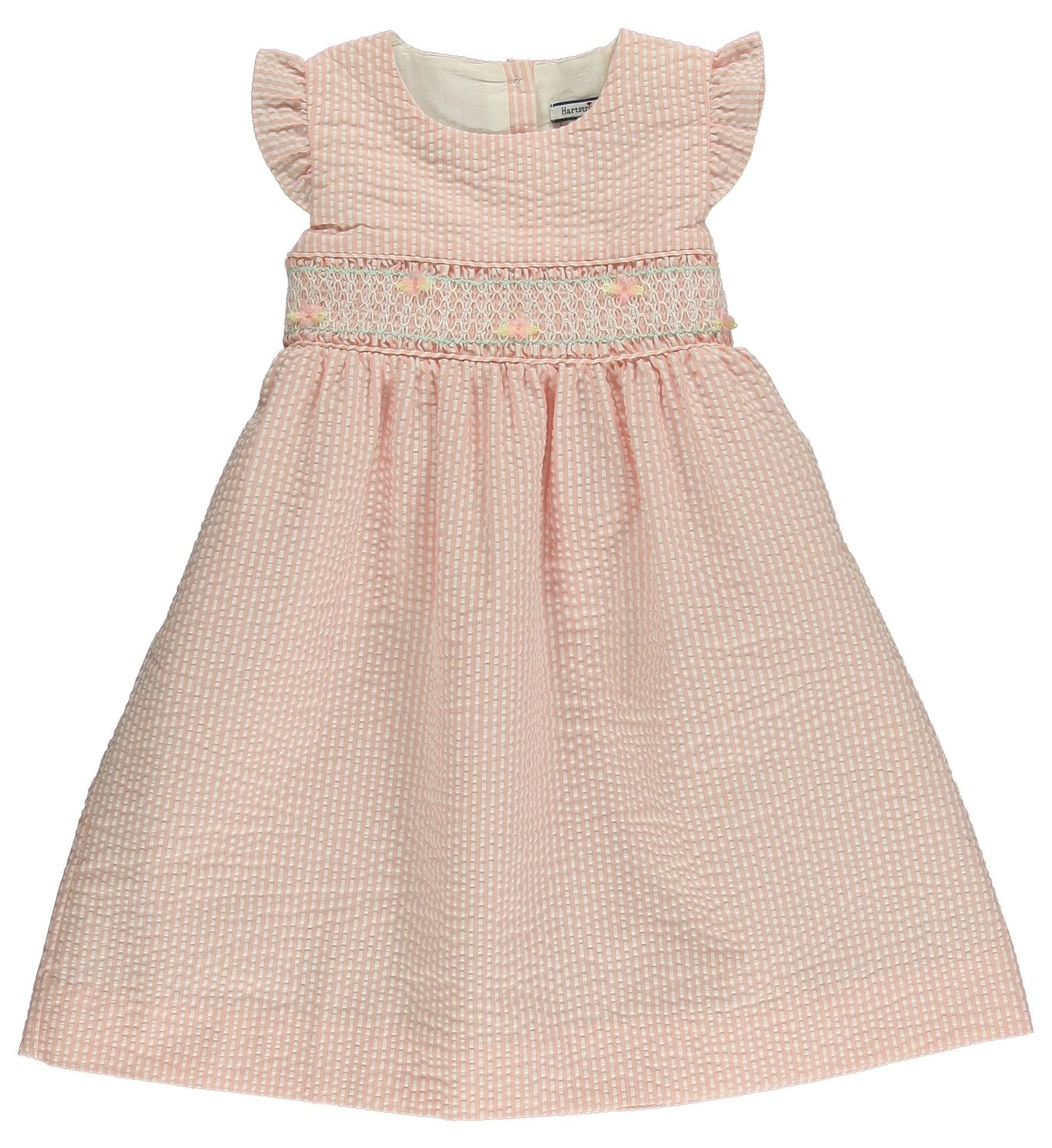 0c2a1983a864 Hartstrings Apricot Dress - Baby Designer Clothes