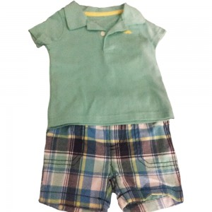 Carters Shorts and Tee