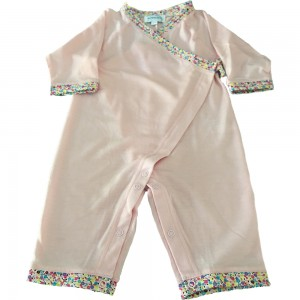 Albetta Pink Merino Sleep Suit