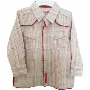 Fresh Baked Red Checked Shirt