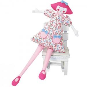Kate Finn: Geranium 50cm Pillow Doll