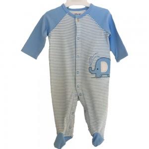 Little Me Sleep Suit Blue